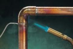Instalação de redes de gás