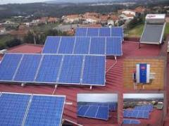 Instalação de sistemas utilizando energias renováveis