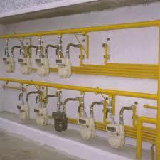 Instalação de gas
