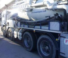 Recolha de residuos e respectivo transporte para tratamento