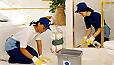 Limpeza e impermeabilização