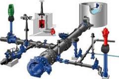 Instalações redes de água