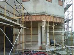 Restauro, reboco de paredes e estuques