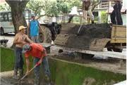 Limpeza após inundações e incêndios