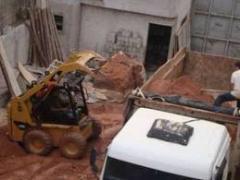 Limpeza obras e demolicoes